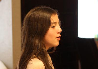 vocal student